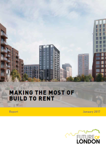 Making the Most of Build to Rent report cover