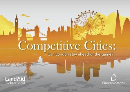 LandAid Debate 2013 on London's competitiveness