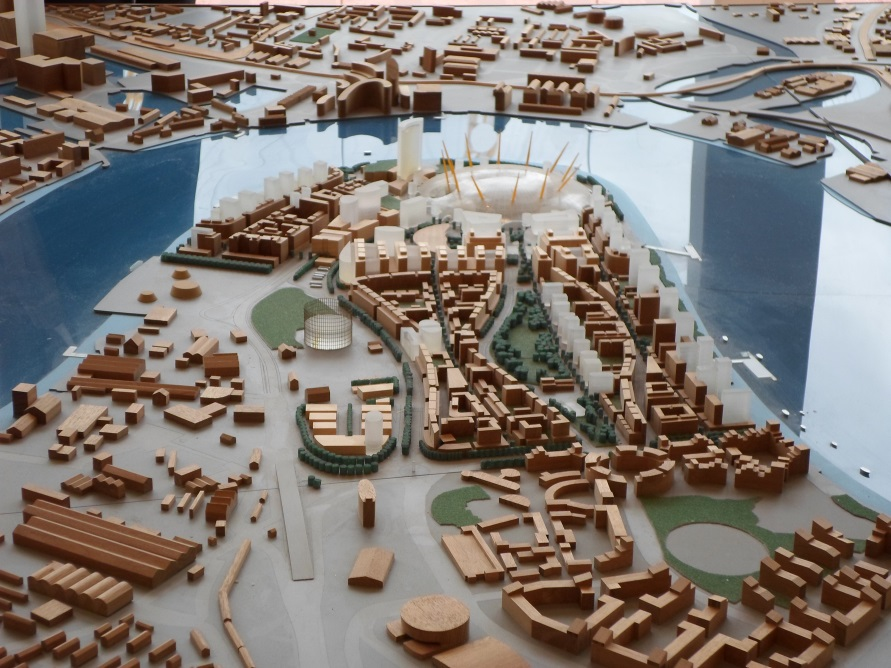 Greenwich Peninsula model