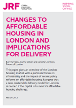 Changes to Affordable Housing in London and Implications for Delivery