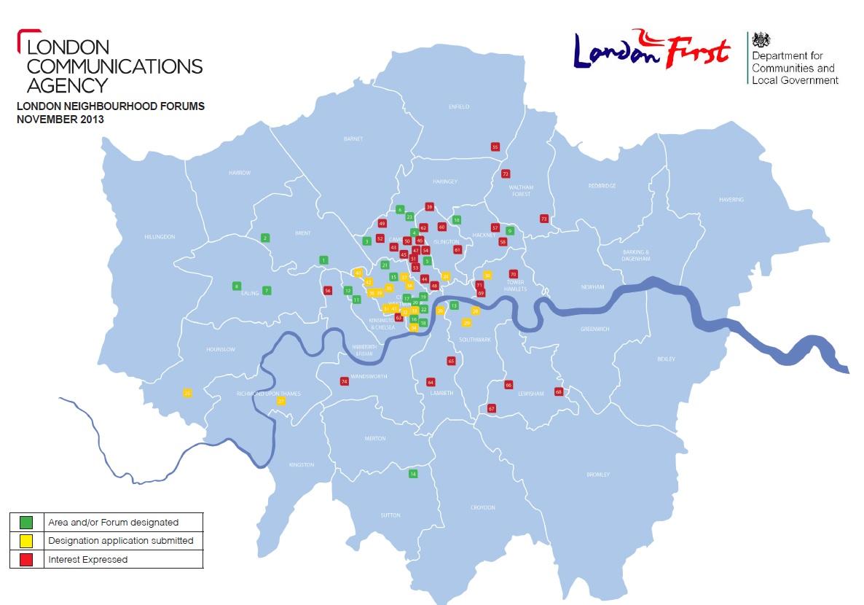 Source: London Communications Agency (2013)