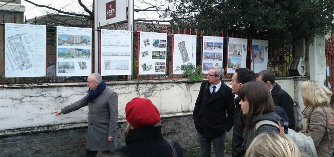St Clements consultation boards