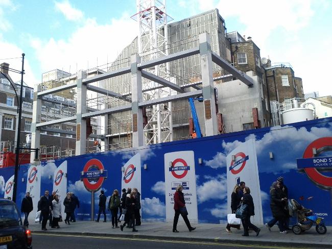 Bond St Crossrail