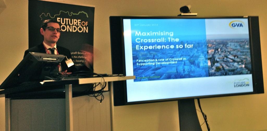 Crossrail research seminar - Martyn Saunders