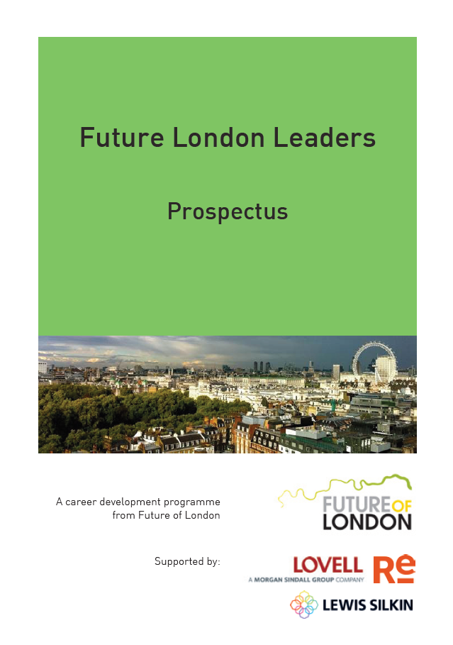 Future London Leaders prospectus cover