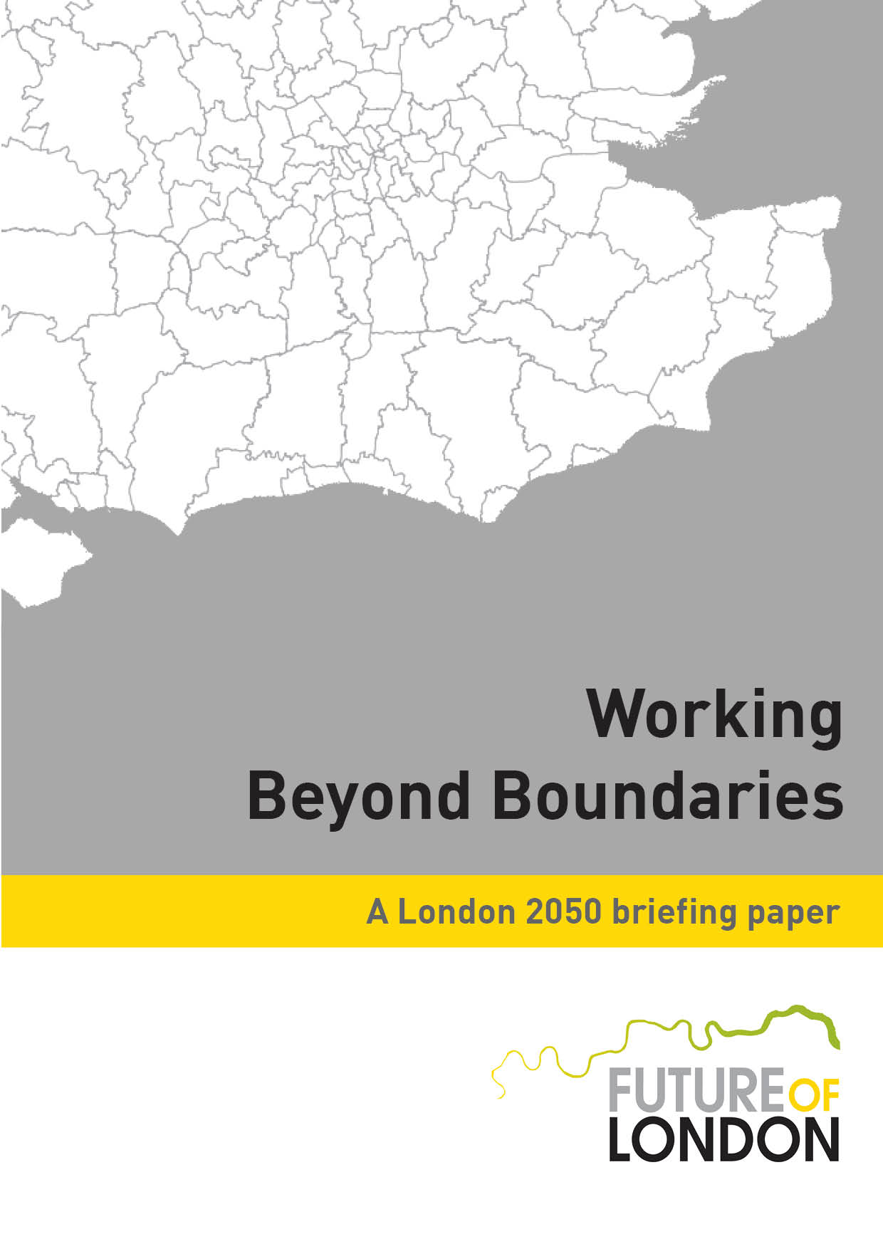 Working Beyond Boundaries briefing paper - cover