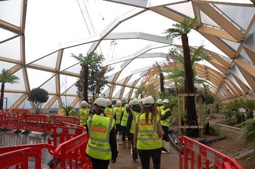 Canary Wharf roof
