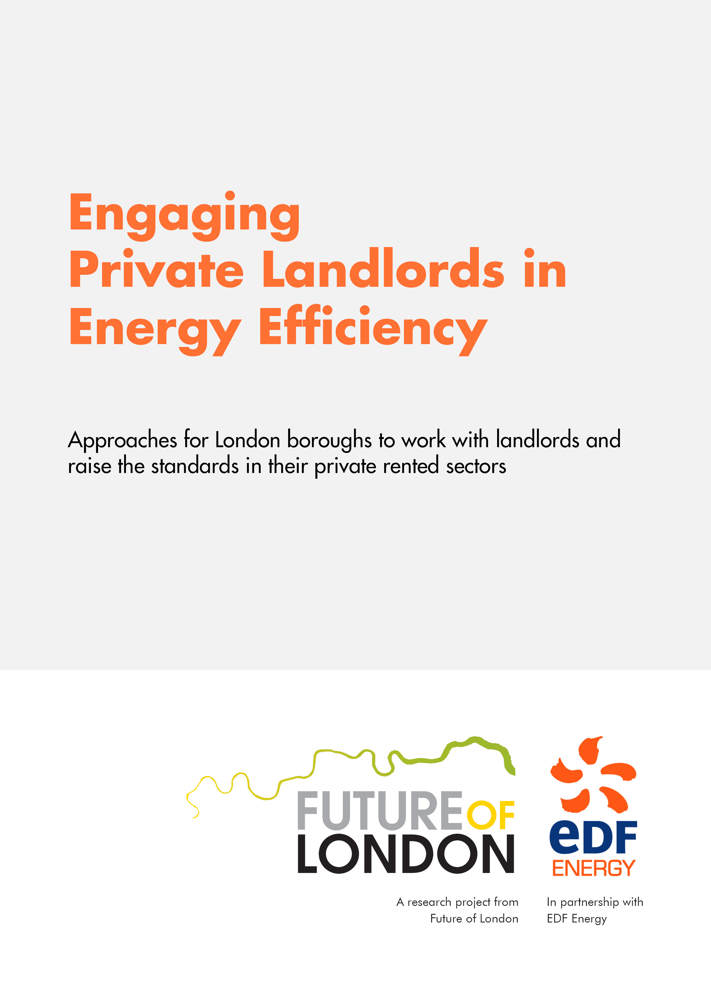 Press release: Engaging Private Landlords in Energy Efficiency