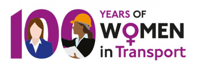 100 years of women in transport