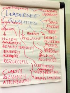 FLL9 Mayor leadership flipchart