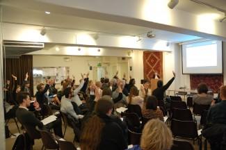 Rent Stabilisation show of hands