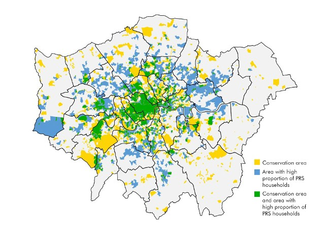 London Map Areas.Housing Stock In London S Prs Future Of London