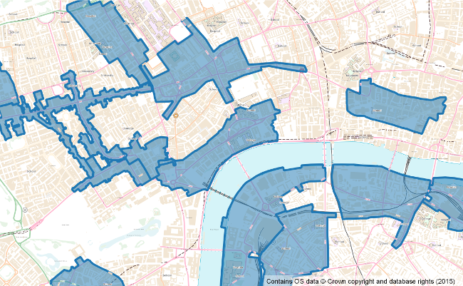 Central London Business Improvement Districts