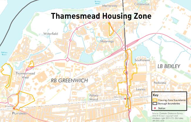 Thamesmead Housing Zone