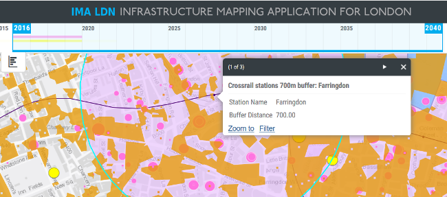 GLA/Arup Infrastructure Mapping Application