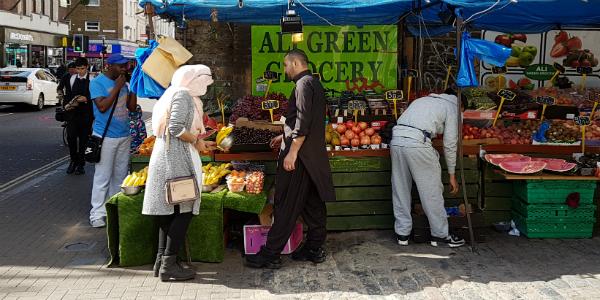 rye lane fruit stall
