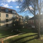 Woodside Square: design and downsizing