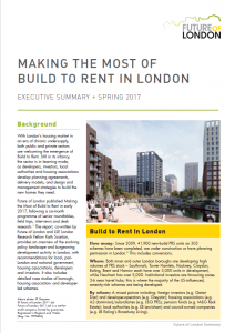 build to rent exec summary cover