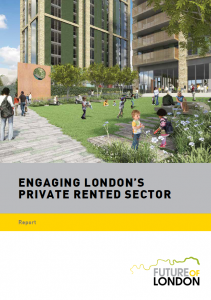 engaging london's prs report cover