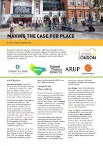 placemaking conference summary cover