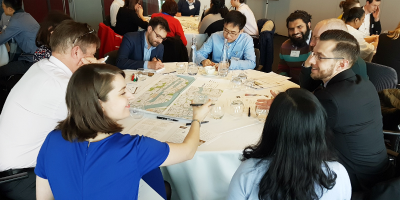 royal docks charrette discussion