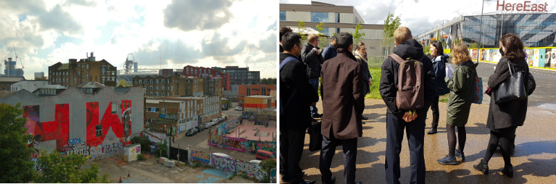 industry past and present in Hackney Wick