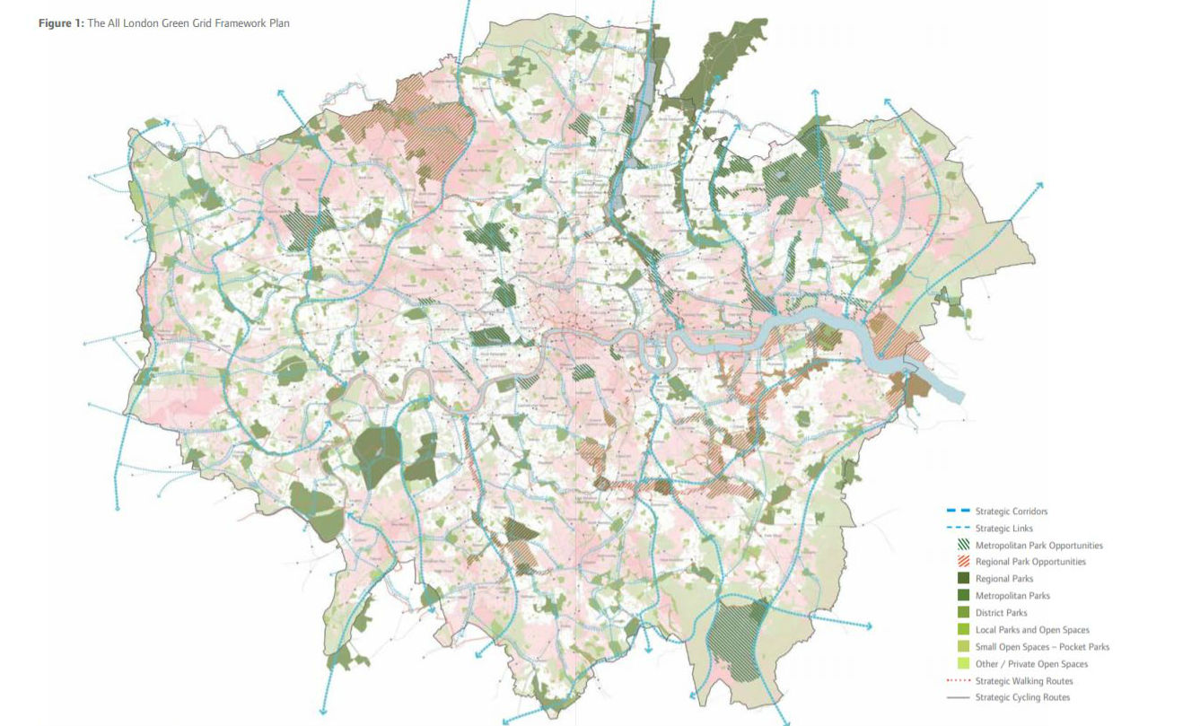 Enhancing Green Infrastructure Through Development And Renewal Future Of London