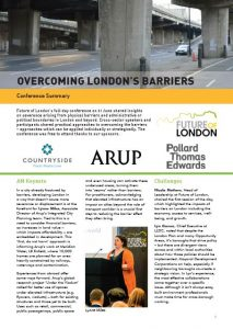 barriers conference summary cover