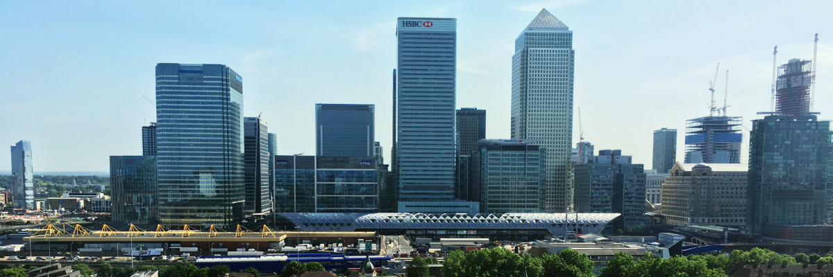 funding public projects header image of canary wharf