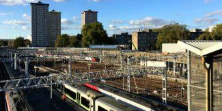 Euston Station - Tracks