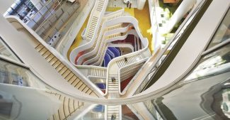 Workspace stairs, image courtesy of WSP