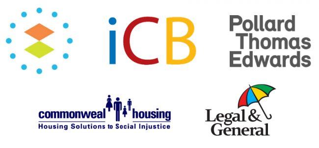 community-led housing sponsor banner