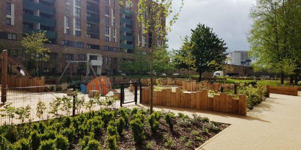 Public space at Acton Gardens