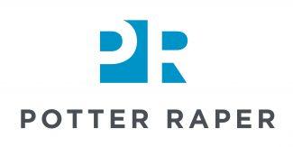 Potter Raper logo, Building Resilient Workspaces