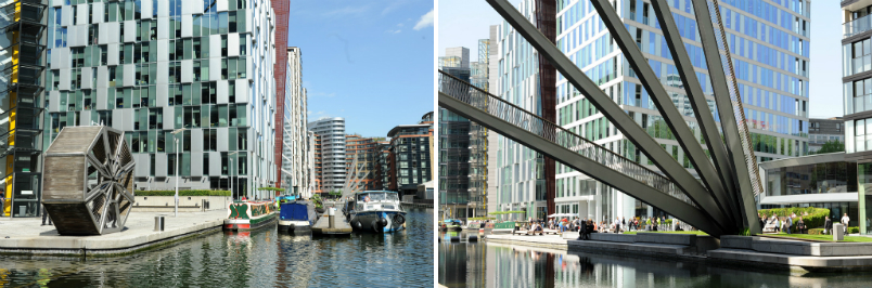new bridges at paddington basin