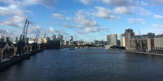 Royal Victoria Dock footbridge