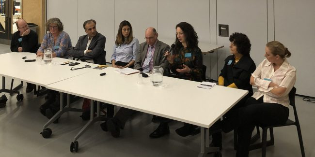 panellists at BREI event