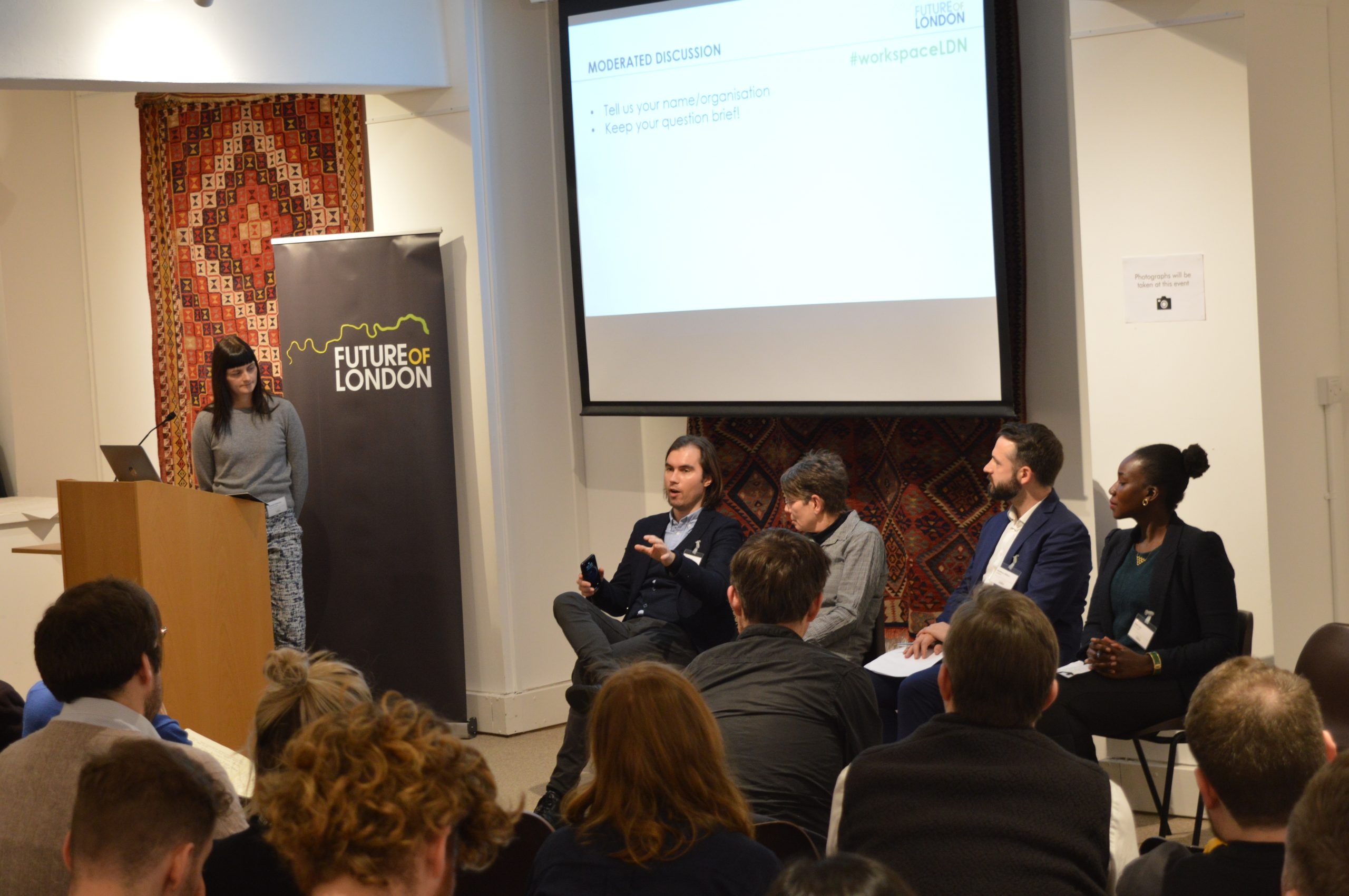 Panel on building resilient workspace