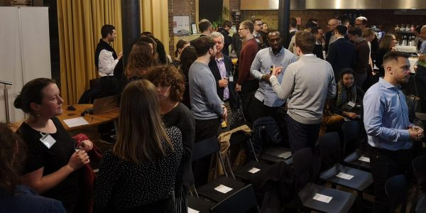Networking at City Makers' Forum
