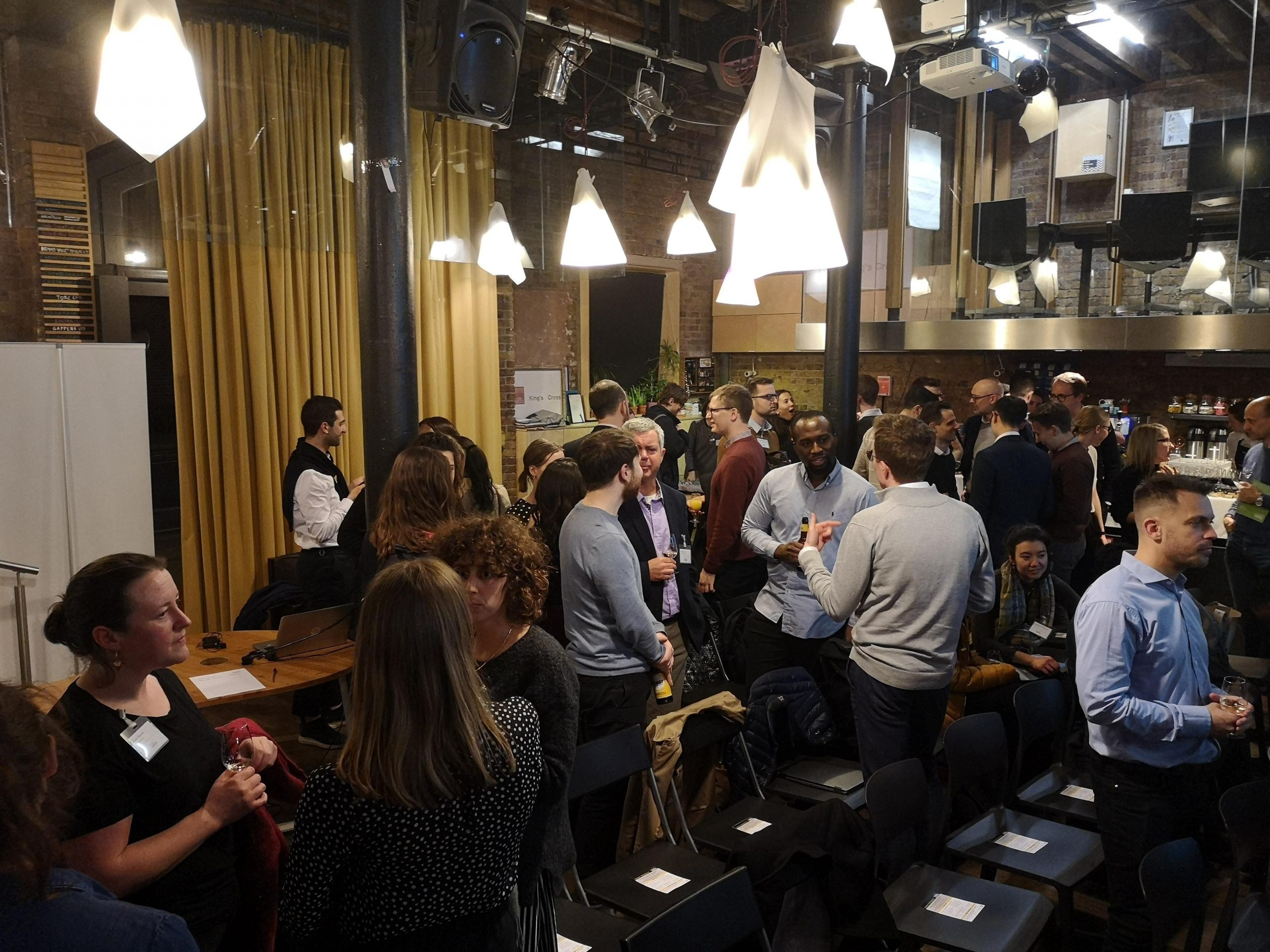 Networking at City Makers' Forum: Climate Emergency