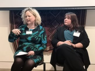 Caroline Wilson and Blossom Young discuss building resilient workspace