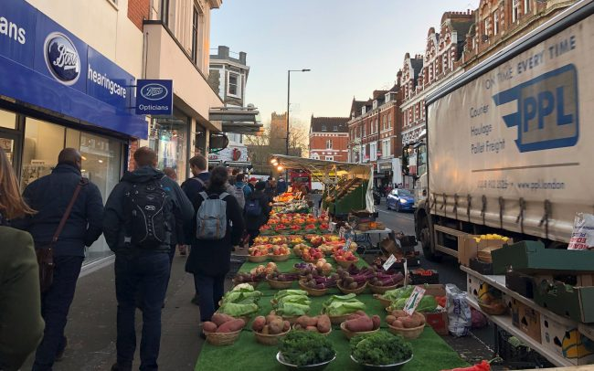 North End Road market, high streets and markets