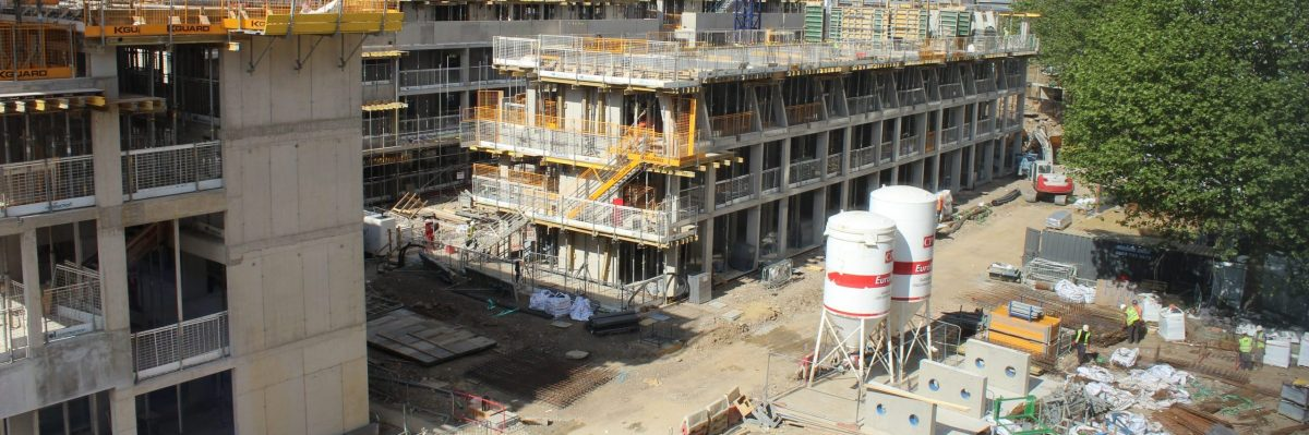 Construction site, commercial skills in the public sector