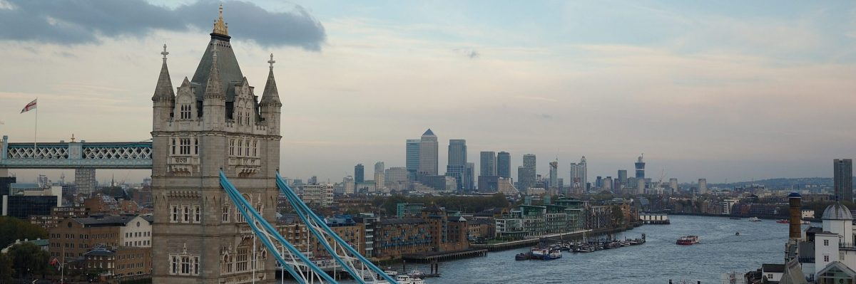 London Wide View River Thames From City Hall, Emerging Talent Programme