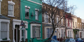 Row of rented homes, PRS Forum, networks
