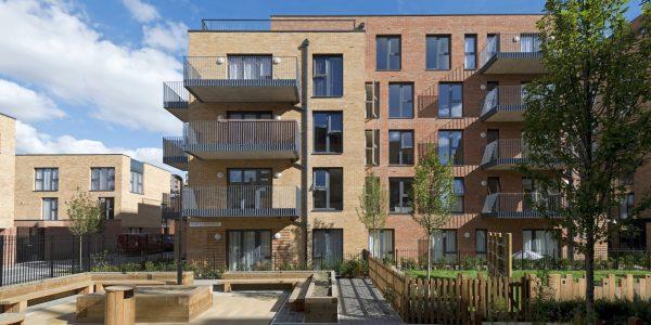 Accelerating homebuilding, BPTW, Watts Grove, Tower Hamlets, London