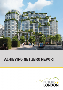 Achieving Net Zero report cover page