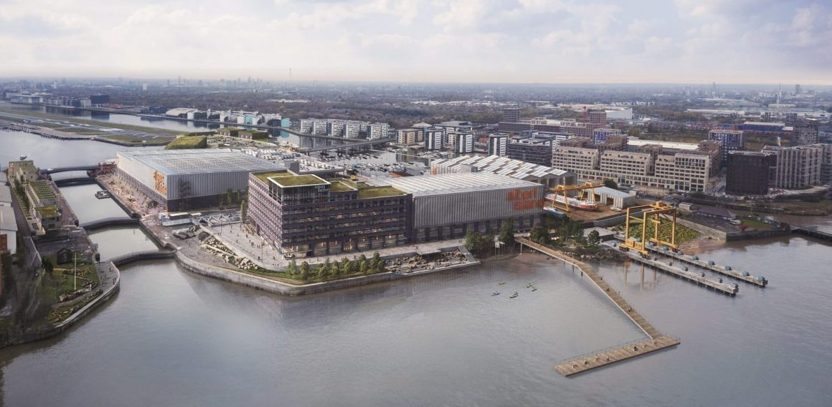 Albert island: revitalising London's industry credit Haworth Topkins
