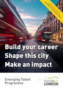 Emerging Talent Programme flyer